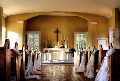 Allaire Chapel at Allaire Village, Farmingdale NJ
